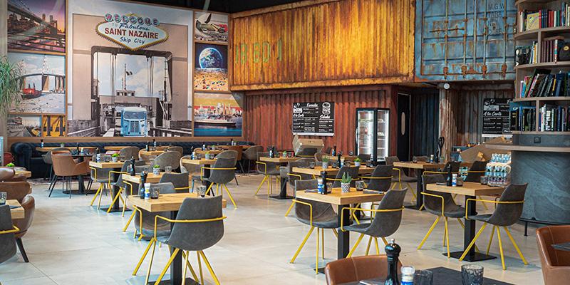 Le restaurant du Globe Café à Saint-Nazaire